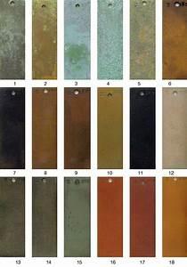 Bronze Patina Color Chart Patina Finishes Walls