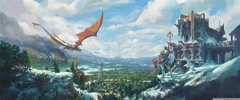 runescape temple knight dragon  hd desktop wallpaper