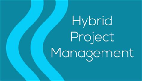 plan  adjust hybrid project management  professionals