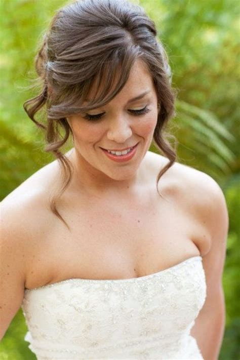 wedding hairstyles for medium length hair bridesmaid