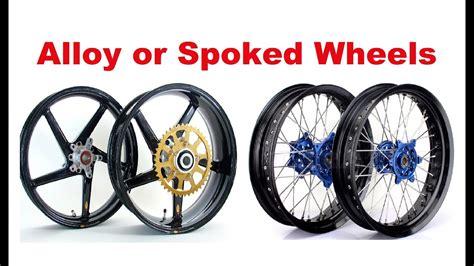 Spoked Wheels Vs. Alloy Wheels