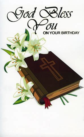 A religious birthday greeting is one of the best ways to show your wish to someone who celebrates their birthday. Religious - 012