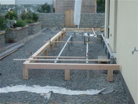 terrasse wpc unterkonstruktion planung aufbau und fertigstellung einer l terrasse