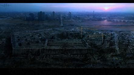 post apocalyptic washington dc artwork pentagon