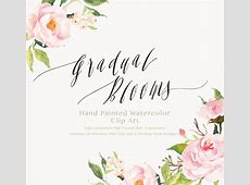 Watercolor flower Clip ArtGradual Blooms on Behance