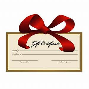 Holiday Gift Certificate Promotion