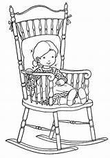 Coloring Rocking Chair Colouring Printable Adult Chairs Stamps Sheets Digi Devianart Colorier Enfant Coloriages Papier Patterns Getdrawings Holly sketch template