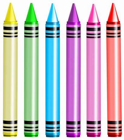 Crayon Crayons Transparent Clipart Clip Background Crayola