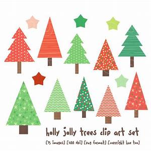 Rustic Christmas Tree Clipart (59+)