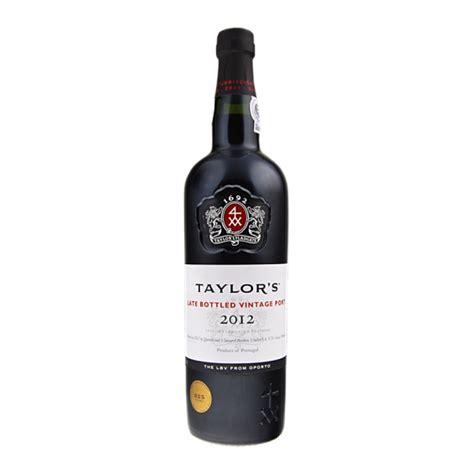 Late Bottled Vintage by Taylors Late Bottled Vintage 2012
