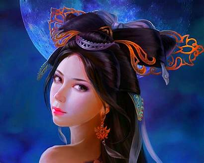 Fantasy Face Digital Painting Expression