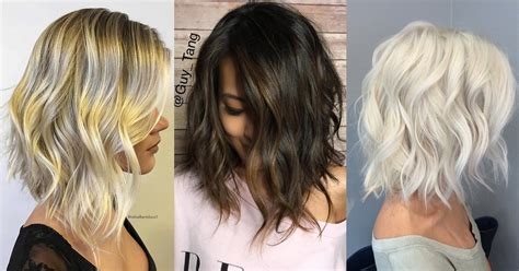 Trendy Messy Bob Hairstyles 2019