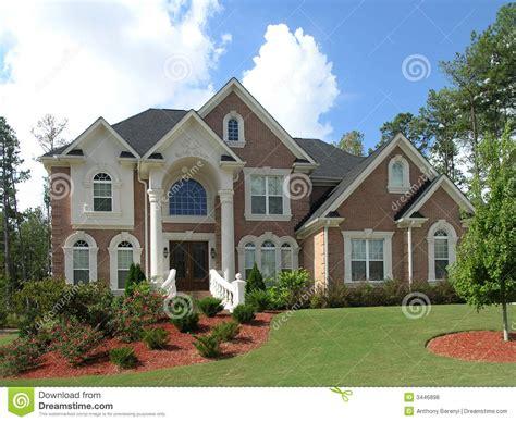 Home Exterior : Luxury Home Exterior Royalty Free Stock Photos-image