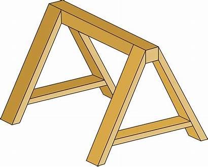 Sawhorse Svg Frame Wikipedia Plans Wood Swing