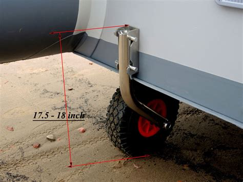 Rib Boat With Wheels by Boat Launching Wheels For Dinghy Release