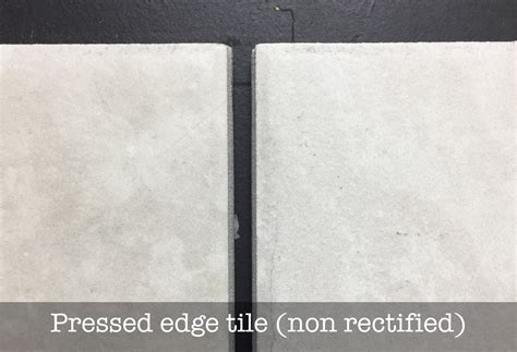 what is a rectified tile the tile depot