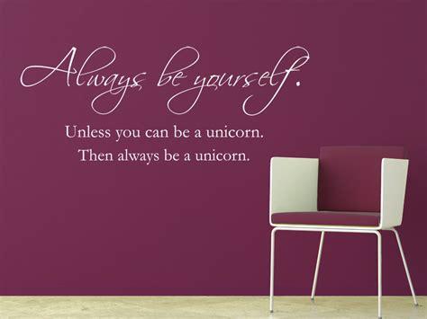 wandtattoo spruch    unicorn lustige