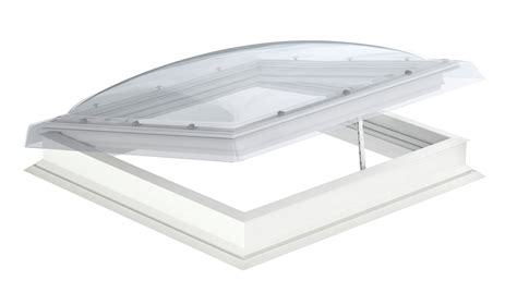 velux flat roof electric dome window cvp sg roof