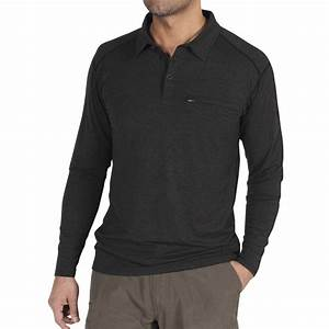 Long Sleeve Polo T Shirts Mens