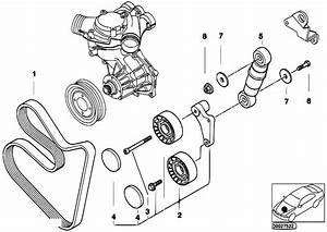 Original Parts For E39 M5 S62 Sedan    Engine   Belt Drive