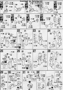 Hg Beginning D Gundam English Manual  U0026 Color Guide
