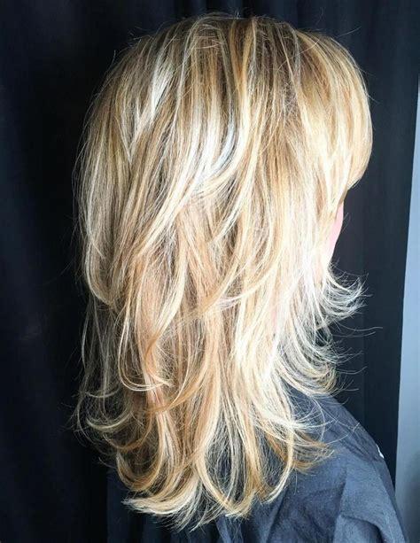 lovely long shag haircuts  effortless stylish