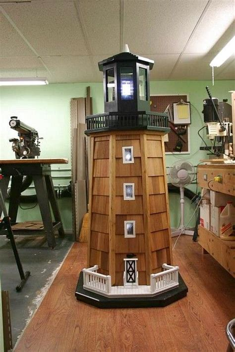 diy lighthouse images  pinterest light house lighthouse  wood projects