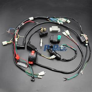 50cc 70cc 90cc 110cc 125cc Cdi Coil Wire Harness Assembly