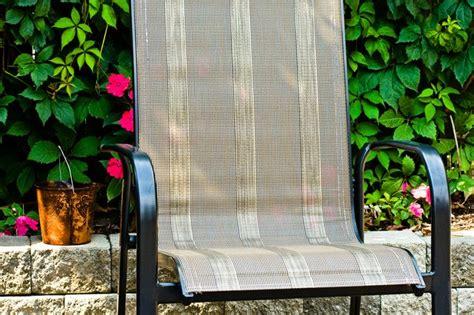 repair sling patio chairs hunker