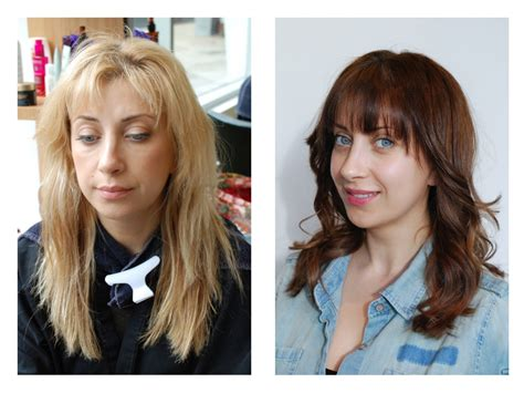 Brown To Hair Before And After Photos by Amazing Before And After To Brown Hair Color