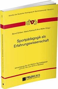 Sportp U00e4dagogik Als Erfahrungswissenschaft