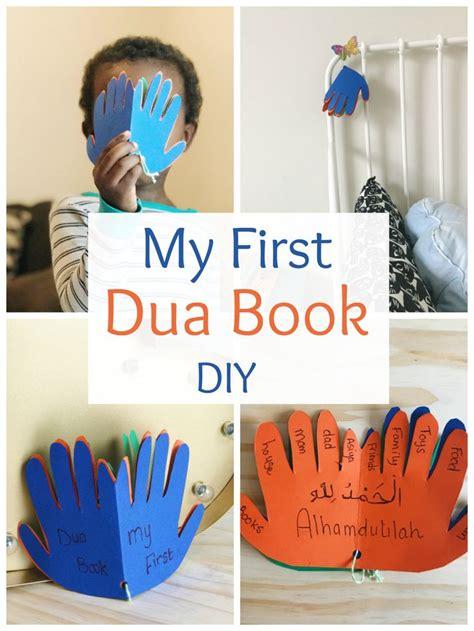 dua book diy ramadan activities ramadan