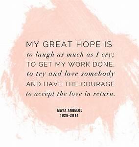 Weekend wisdom: Maya Angelou | Maya angelou, Maya and Crying