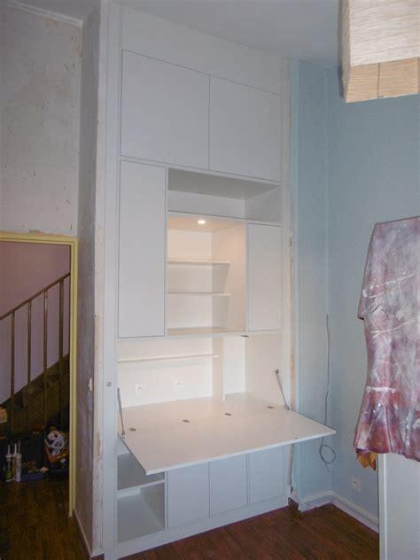 lumi鑽e bureau meuble de bureau sur mesure type secrétaire le kiosque amenagement