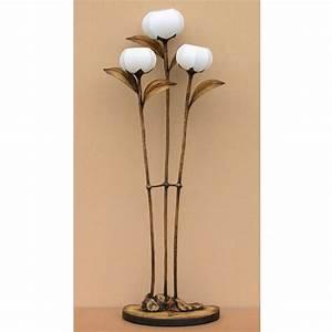antique alive With tulip 4 light floor lamp