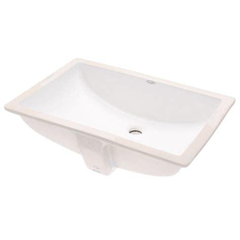 Undermount Bathroom Sink Rectangular by American Standard Studio Rectangular Undermount Bathroom