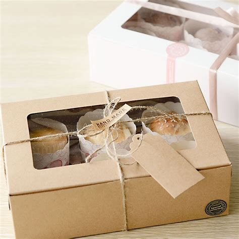 buy brown  muffin boxcupcake cake box