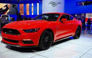 2015 Mustang In Red Photograph by Rachel Cohen