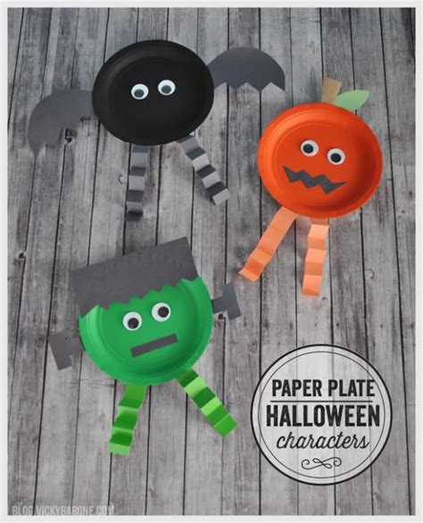 15 Festive & Easy Halloween Crafts For Kids Thegoodstuff