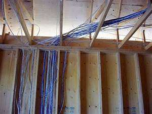 Pre Wire For Basement Renovation Or New Home
