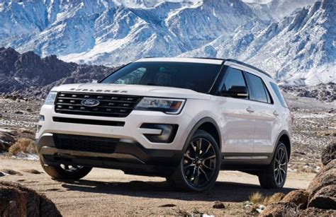 2018 Ford Explorer Release Date, Price, Interior Redesign
