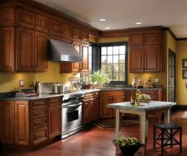 Schrock Kitchen Cabinets Menards Denali Cherry Chestnut Schrock At Menards