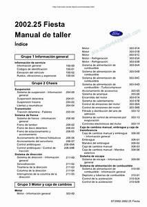 Manual Ford Fiesta 2006