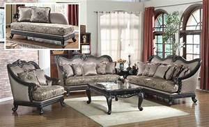 Traditional European Design Formal Living Room Luxury Sofa