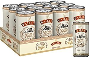 The liqueur is so popular that people around the world drink 2,300 glasses of it every minute of every day. Bailey's Irish Cream Latte Iced Coffee Liqueurs, 200 ml (Case of 12): Amazon.co.uk: Grocery