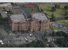 Aerial photography of Manchester Victoria Mill Apartments