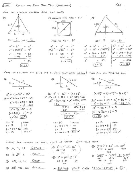 worksheets geometry practice worksheets  answers