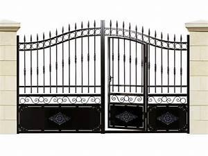 Portail 3 50m : portail en fer caraibes portillon incorpor 23724 ~ Premium-room.com Idées de Décoration
