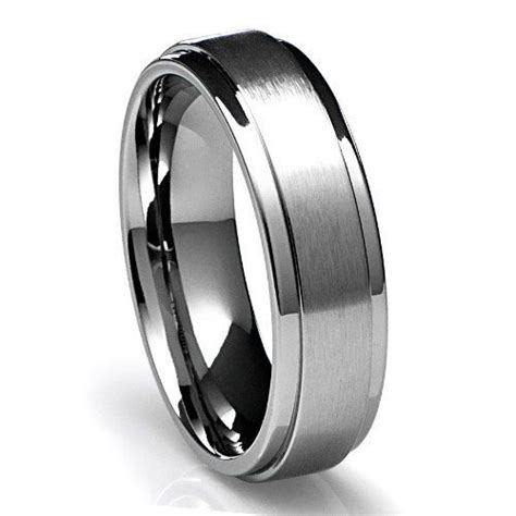 mens 950 platinum wedding band ring 6mm wide sizes 4 12