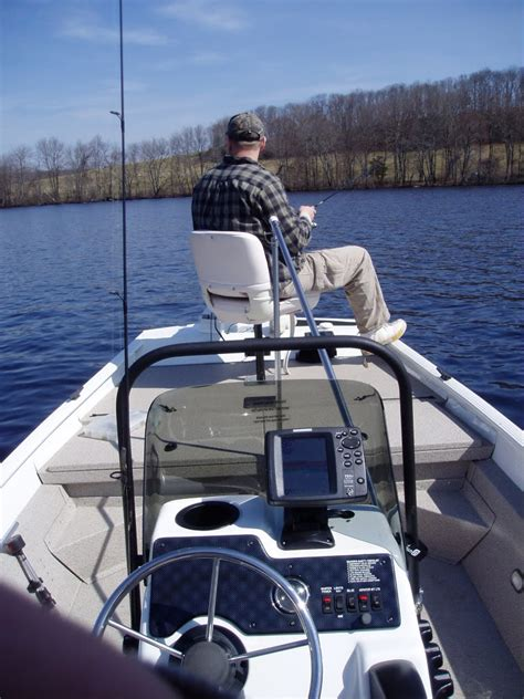 jon boat deck stability stripers we ll be right back
